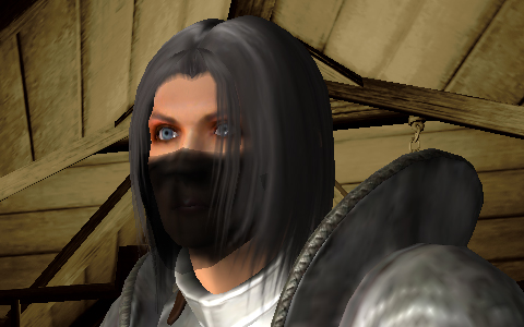 今回Oblivionのキャラクターメイキングにて作った顔