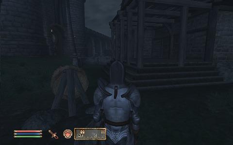 ここかな、どうやら戦士ギルドの建物の裏手に出てしまったようだ