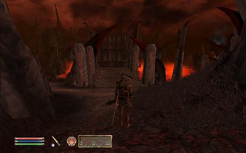 Oblivion Gateをくぐると…