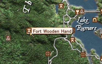 Fort Wooden Handへfast travel