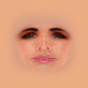 Humanのデフォルトの「Human - FaceFemale.dds」