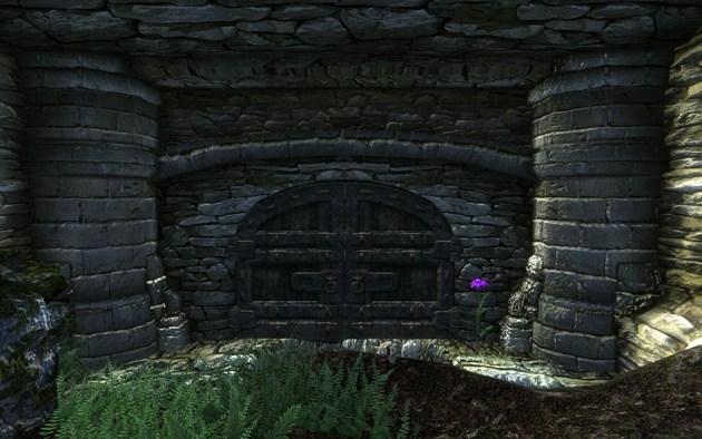 Fort Blueblood入り口にて
