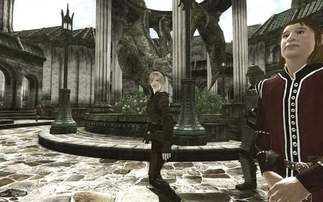 皇帝が暗殺されたというのに、街は平和そのもの。playerさんもご機嫌のようです。
