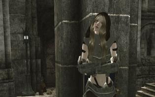 character playerのMikiさんが上半身に着ているarmorはFLY氏のModによりフォルムが改変されたものだ。